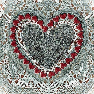 Winter Heart Poster by Frank Tschakert