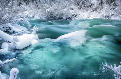 Winter Hues Poster by Leland D Howard