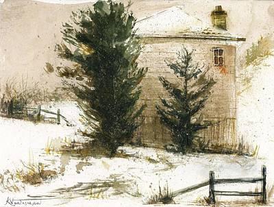 Winter Poster by Kristina Vardazaryan