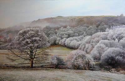 Winter Landscape Poster by Harry Robertson