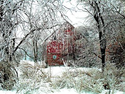 Winter Wonderland Poster by Julie Hamilton