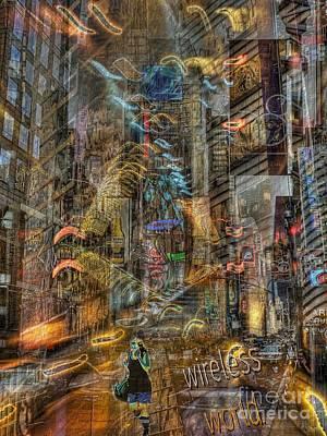 Wireless World Poster by Jeff Breiman