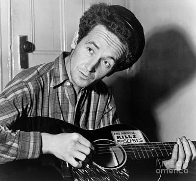 Woody Guthrie (1912-1967) Poster by Granger