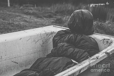Wrapped Dead Body In Bath Tub, Csi Concept Poster by Jorgo Photography - Wall Art Gallery