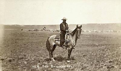 Wyoming: Cowboy, C1883 Poster by Granger