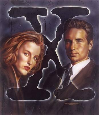 X-files Poster by Tim  Scoggins