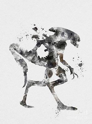 Xenomorph Poster by Rebecca Jenkins