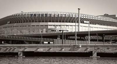 Yankee Stadium    1923  -  2008 Poster by Daniel Hagerman