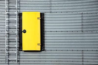 Yellow Door Poster by Todd Klassy