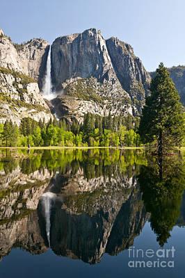 Yosemite National Park, Springtime Poster by Inga Spence