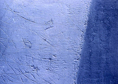 Zambonied Ice Poster by Ken Yackel