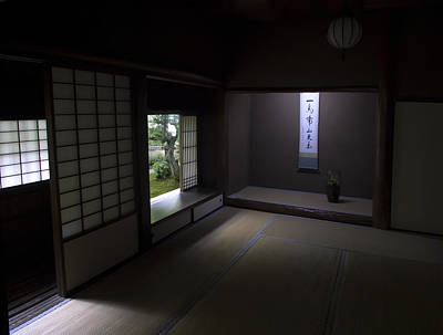 Zen Tea Room Of Koto-in Temple -- Kyoto Japan Poster by Daniel Hagerman