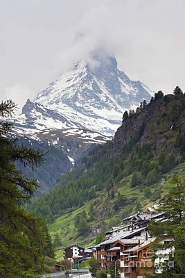 Zermatt Poster by Andre Goncalves