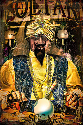 Zoltar Speaks Poster by Chris Lord