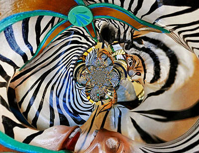 Zoo Animal Abstract Poster by Marty Koch