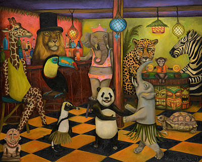 Zoobar Poster by Leah Saulnier The Painting Maniac