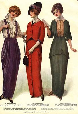 1910s Usa Womens Print by The Advertising Archives