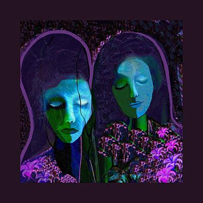 Digi-art Digital Art -   892 - Griefing Ladies by Irmgard Schoendorf Welch