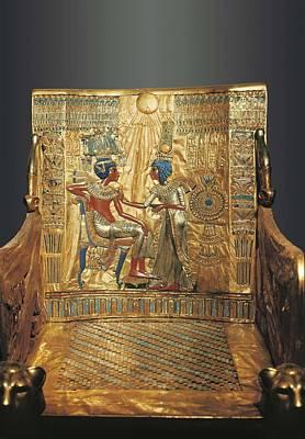 � Aisaeverett Collection Throne Print by Everett
