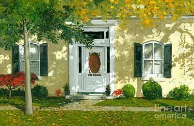Michael Swanson Painting -  Autumn Sunlight by Michael Swanson