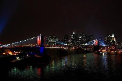 Brooklyn Bridge 125th Anniversary Original by Uladzimir Taukachou