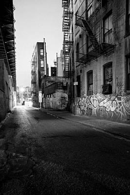 Chinatown New York City - Mechanics Alley Print by Gary Heller