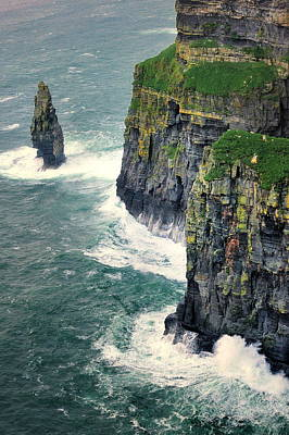 Prince Harry Photograph -  Cliffs Of Moher In Ireland by Jan Sieminski