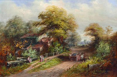 Partridge Painting -  Country Life by Edward Partridge