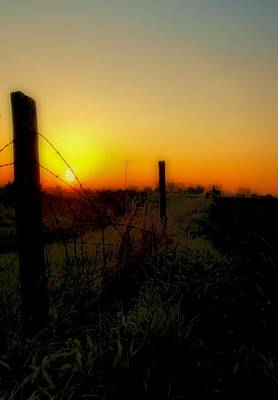 Country Sunrise Print by Tom Druin
