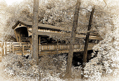 Awesome Photograph -  Covered Bridge by Marcia Colelli