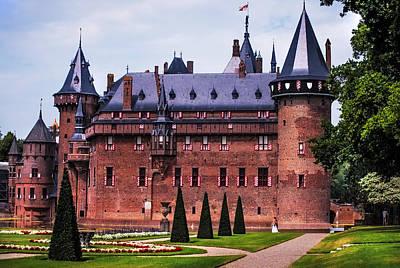 De Haar Castle 4. Utrecht. Netherlands Print by Jenny Rainbow