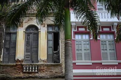 Doors And Windows Recife Brazil 1 Print by Bob Christopher
