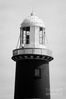 East Light Lighthouse Altacarry Altacorry Head Rathlin Island  Northern Ireland Print by Joe Fox