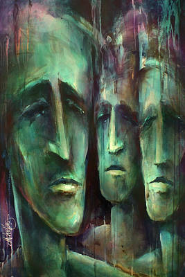 Sadness Painting - ' Endless II ' by Michael Lang