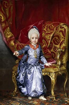Anton Raphael Mengs Painting - Francis Archduke Of Austria by Anton Raphael Mengs