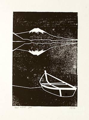 Fuji At Night - Print by Igor Kislev