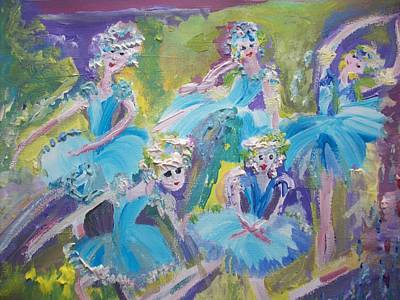 Moral Painting -  Green And Pleasant Land Waltz by Judith Desrosiers