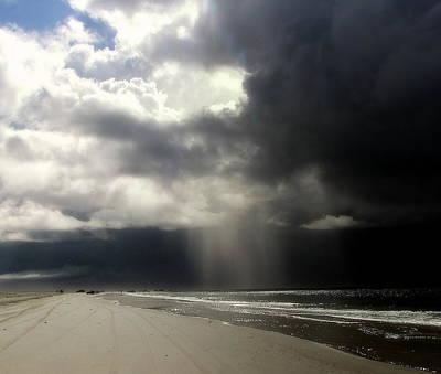 Hurricane Glimpse Print by Karen Wiles