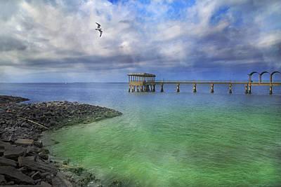 Jekyll Photograph -  Jekyll Island Fishing Pier by Betsy Knapp