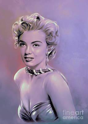 Marilyn Monroe Original by Andrzej Szczerski