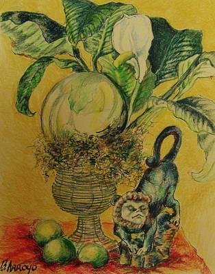 Monkey  Shine Original by Beth Arroyo