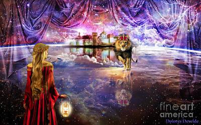 Revelation Digital Art -  New Jerusalem by Dolores Develde