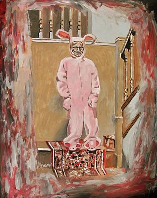 Pink Nightmare Original by Jeremy Moore