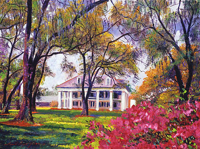 Architectural Painting -  Plantation Spring by David Lloyd Glover