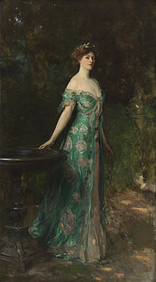 Portrait Of Millicent Leveson-gower - Duchess Of Sutherland Print by John Singer Sargent