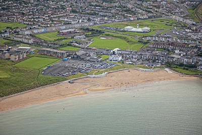 Portrush Photograph -  Portrush East Strand & Dunluce Centre by Colin Bailie