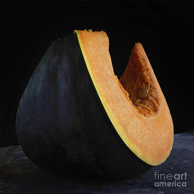 Pumpkin Print by Bernard Jaubert