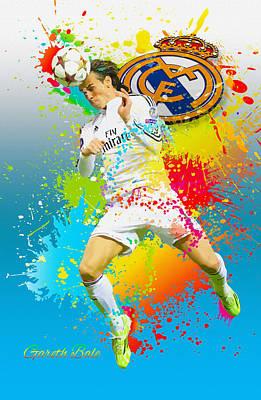 Real Madrid - Gareth Bale Original by Don Kuing