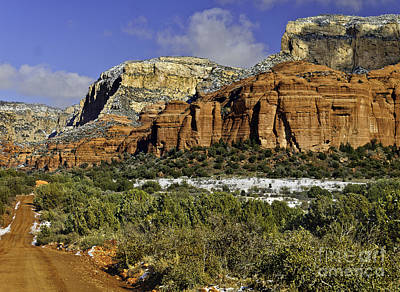Sycamore Canyon Photograph -  Red Rock-secret Mountain Wilderness by Bob and Nadine Johnston
