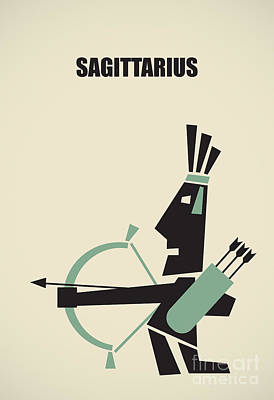 Archer Digital Art -  Sagittarius by Igor Kislev